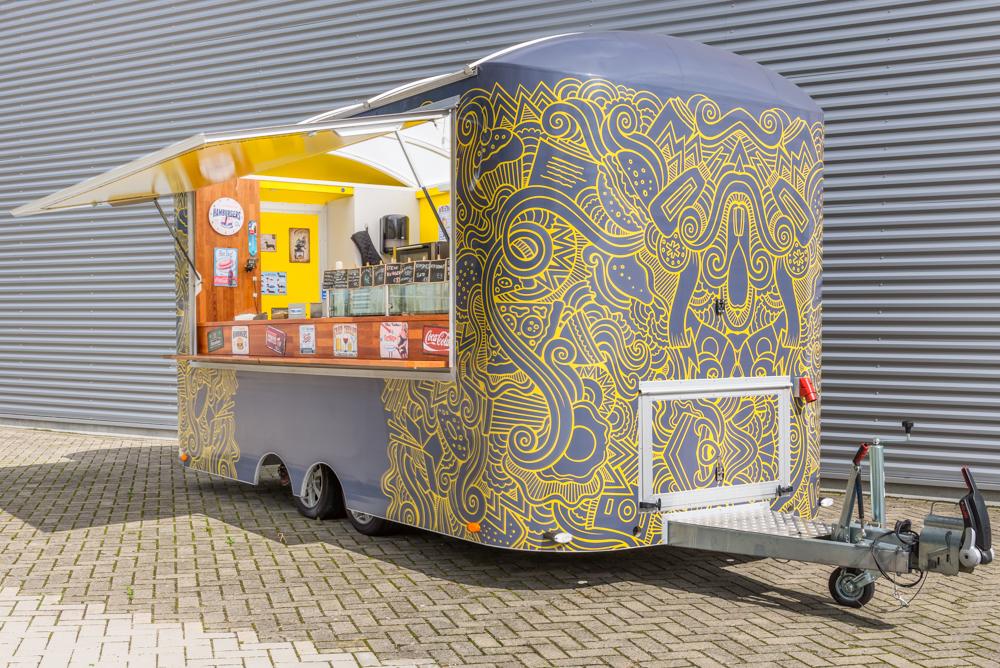 Hedendaags Schitterende Foodtruck te koop: Zo goed als nieuw! - LJ-42